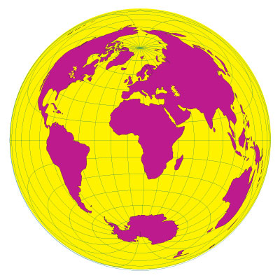 Azimuth (Equal Area) Projection