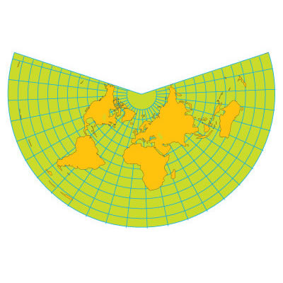 Conic (Equidistant) Projection